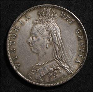 1/2 crown 1890 Storbritannia 01
