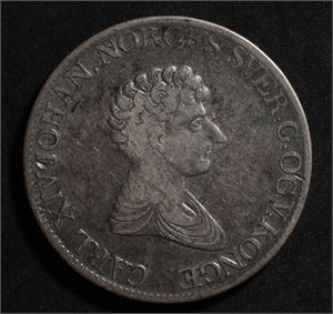 1 speciedaler 1827 Norge 1/1- 1827/6