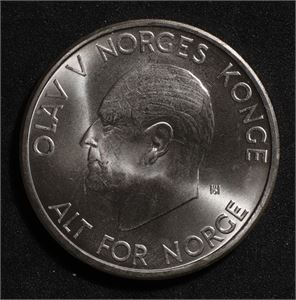 5 kroner 1966 Norge 0
