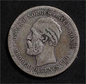 1 krone 1881 Norge 1