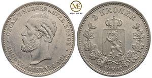 2 kroner 1902 Oscar II. Kv.01