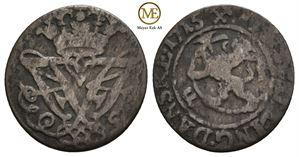 2 skilling 1715 Frederik IV. NMD.60. Kv.1-