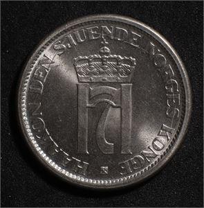 1 krone 1951 Norge 0 Type II