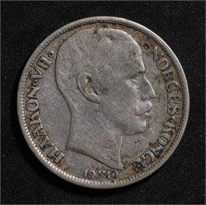 1 krone 1910 Norge 1/1-