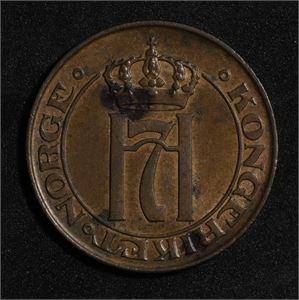5 øre 1908 Norge 01 Flekker