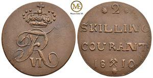 2 skilling 1810 Frederik VI. NMD.5a. Kv.01