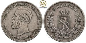 2 kroner 1898 Oscar II. God 1