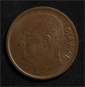 5 øre 1963 Norge O