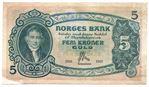 5 kroner 1913 D.6086255. Kv.1+