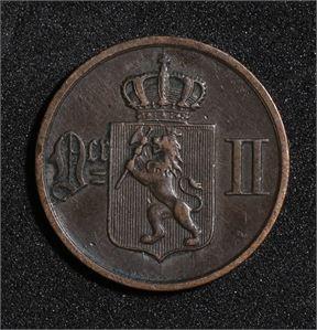 1 øre 1878 Norge 1+